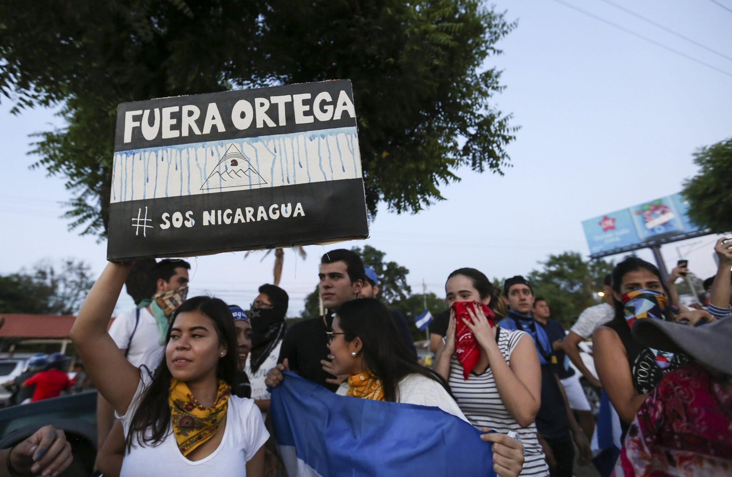 Ortega out